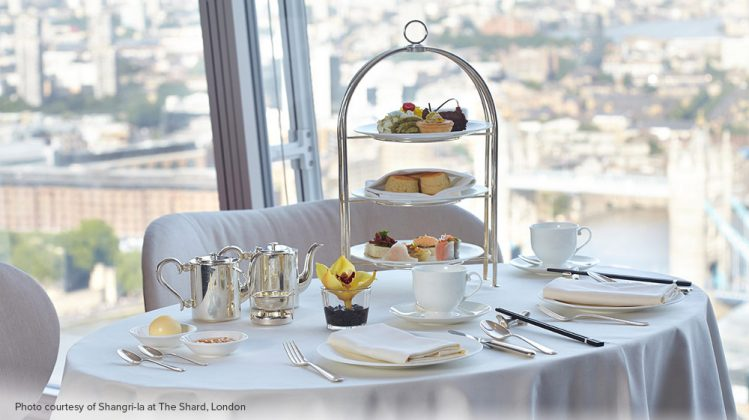 The Shard afternoon tea
