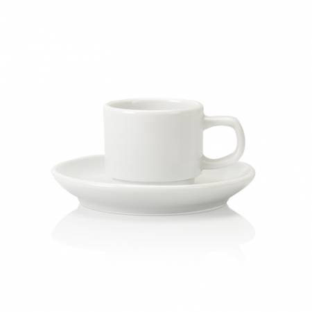 Bone china Pacific stacking espresso cup 9cl