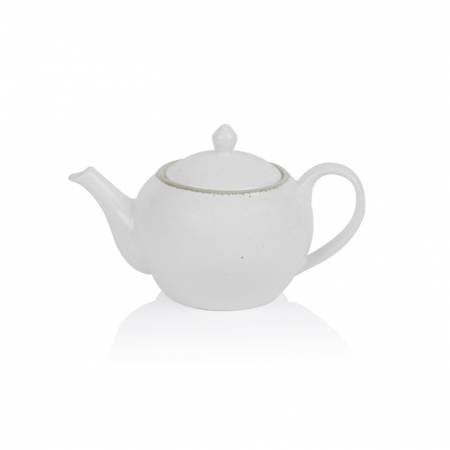 Quartz Teapot Green